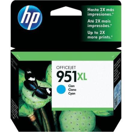 Inkoustová náplň HP No. 951XL, 1500 stran originální - modrá