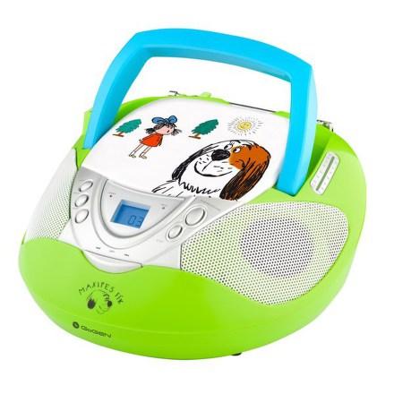 Radiopřijímač s CD GoGEN MAXI RADIO GN, CD/MP3/USB, zelený