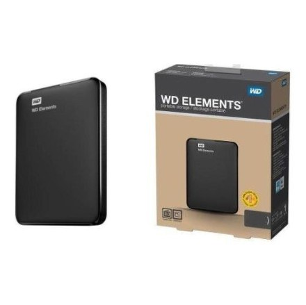 "HDD ext. 2,5"""" Western Digital Elements Portable 750GB - černý"