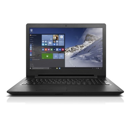 "Ntb Lenovo IdeaPad 110-15IBR Pentium N3710, 4GB, 500GB, 15.6"""", HD, bez mechaniky, Intel HD, BT, CAM, W10 - černý"