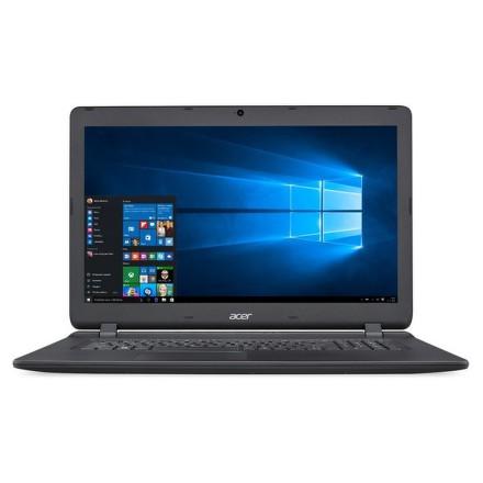 "Acer Aspire ES17 (ES1-732-C1P8) Celeron N3350, 4GB, 500GB, 17.3"""", HD+, DVD±R/RW, HD, BT, CAM, W10 - černý"