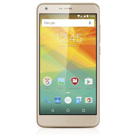Mobilní telefon Prestigio Grace S7 Dual SIM - zlatý