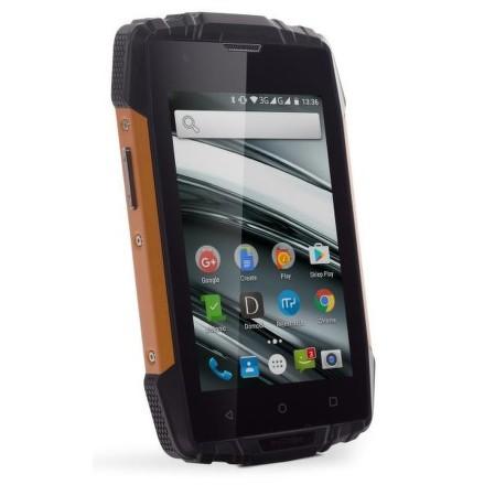 Mobilní telefon myPhone HAMMER IRON 2 Dual SIM - černý/oranžový