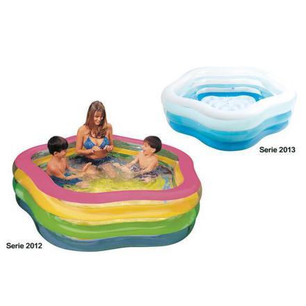 Bazén Intex Summer Colors Pool 1,85 x1,8 x 0,53 m, nafukovací