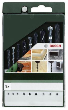 Sada Bosch mix: kov HSS-R/zdivo/dřevo