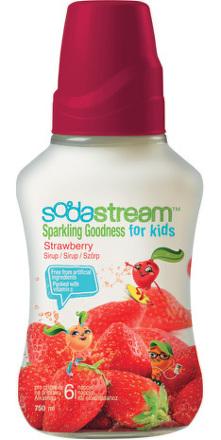 Sodastream sirup GOODNESS-KIDS Strawberry