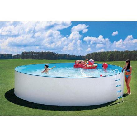 Bazén Steinbach Nuovo 5,5 x 1,2 m s kovovou konstrukcí vč. písk. filtrace Classic 400, 6,6m3/hod