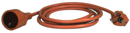 Kabel prodlužovací EMOS P01125 25m - oranžová