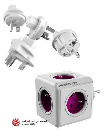PowerCube Rewirable+Travel Plugs