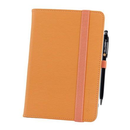 """Pouzdro na tablet polohovací GoGEN univerzal 7"""""""" + stylus - oranžové"""