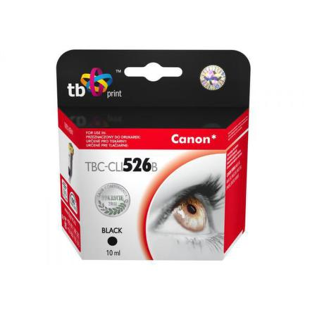Inkoustová náplň TB Canon CLI-526B kompatibilní - černá