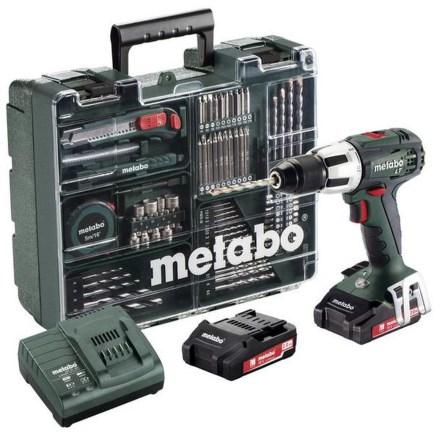 Aku vrtačka Metabo SB 18 LT MD 2x2,0Ah 1-13m