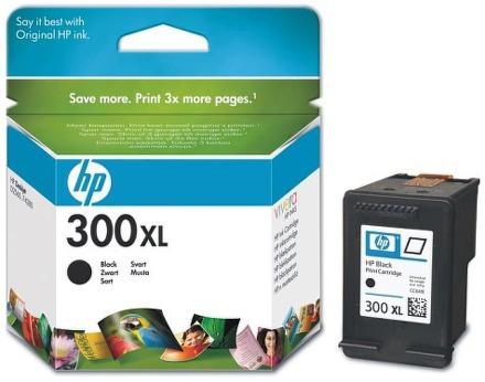 Inkoustová náplň HP No. 300XL, 12 ml, 600 stran originální - černá