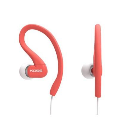 Sluchátka Koss KSC32C (doživotní záruka) - červená