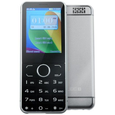 CUBE1 F200 - černý/stříbrný