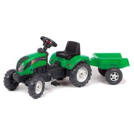 Šlapací traktor FALK Ranč s odpojitelným vozíkem