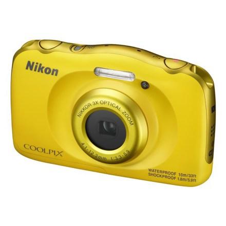Fotoaparát Nikon Coolpix W100 žlutý + dětský batoh ZDARMA