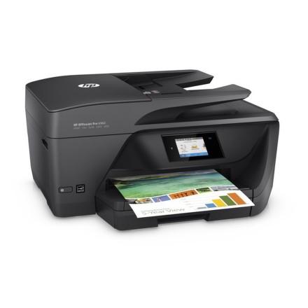 Tiskárna multifunkční HP Officejet Pro 6960 A4, 18str./min, 10str./min, 600 x 1200, 1 GB, automatický duplex, WF, USB - černá