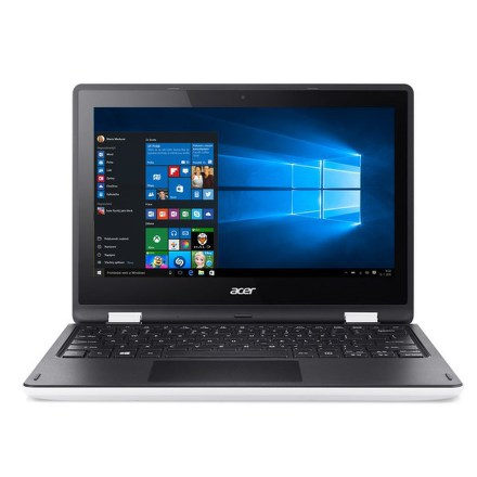 "Ntb Acer Aspire R11 (R3-131T-P5EU) Pentium N3710, 4GB, 64GB, 11.6"""", HD, bez mechaniky, Intel HD, BT, CAM, W10 - bílý"