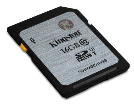 Paměťová karta Kingston SDHC 16GB UHS-I U1 (45R/10W)