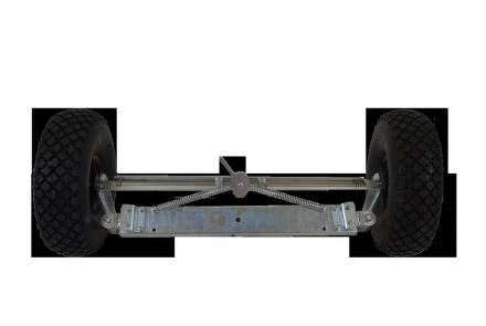 Přídavná zadní kola pro Motúčko s brzdou
