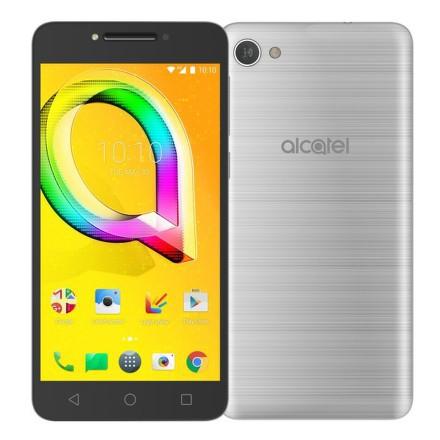 Mobilní telefon ALCATEL A5 LED 5085D - stříbrný