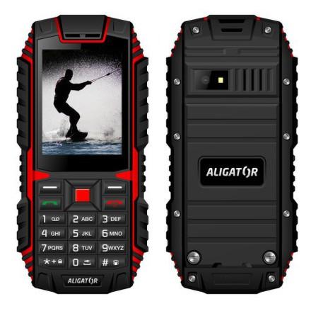 Aligator R12 eXtremo - černý/červený
