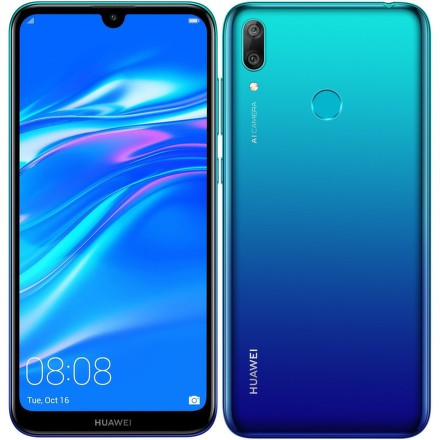 Huawei Y7 2019 Dual SIM - modrý