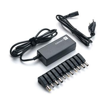 Napájecí adaptér Connect IT CI-133 univerzální pro notebooky, 90 W