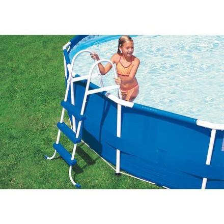 Schůdky do bazénu pro nadzemní bazény o výšce 1,07 m