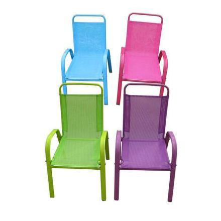 Židle dětská zahradní Happy Green 50XT2930A, assort