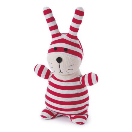 Plyšová hračka ALBI - ponožkáč zajíc