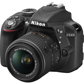 Nikon D3300 + 18-55 AF-S DX VR II