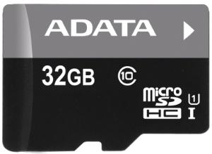 ADATA microSDHC 32GB UHS-I + adaptér