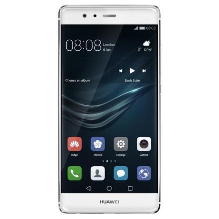 Huawei P9 32 GB Dual SIM Silver + dárek Hama MicroSDHC 16GB + adaptér (114992), Aligator selfie držák + bluetooth zelený, VR-X2 brýle 3D univerzální zdarma