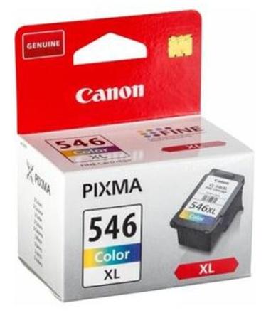 Inkoustová náplň Canon CL-546XL originální - červená/modrá/žlutá