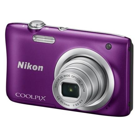 Fotoaparát Nikon Coolpix A100, fialový