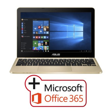 "Ntb Asus VivoBook E200HA-FD0081TS x5-Z8350, 4GB, 32GB, 11.6"""", HD, bez mechaniky, Intel HD, BT, CAM, W10 + MS Office 365 na jede"