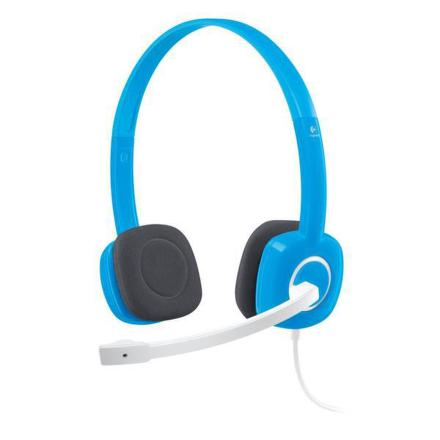 Headset Logitech Stereo H150, Blueberry