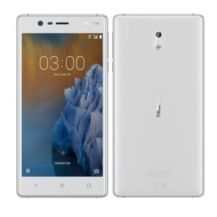 Mobilní telefon Nokia 3 Single SIM - bílý