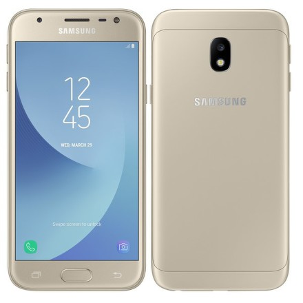 Mobilní telefon Samsung Galaxy J3 (2017) - zlatý