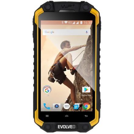 Mobilní telefon Evolveo StrongPhone Q9 - černý/žlutý