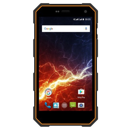 Mobilní telefon myPhone HAMMER ENERGY Dual SIM - černý/oranžový