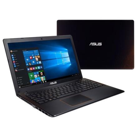 """Ntb Asus F550VX-DM588T i5-7300HQ, 8GB, 1TB, 15.6"""""""", Full HD, DVD±R/RW, nVidia GTX950M, 2GB, BT, CAM, W10 - černý/oranžový"""