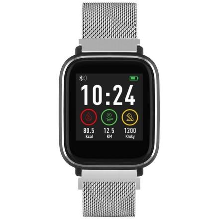iGET FIT F3 Silver chytré hodinky