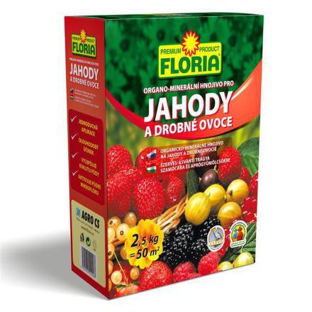 Hnojivo Agro FLORIA pro jahody a ovoce 2,5 kg