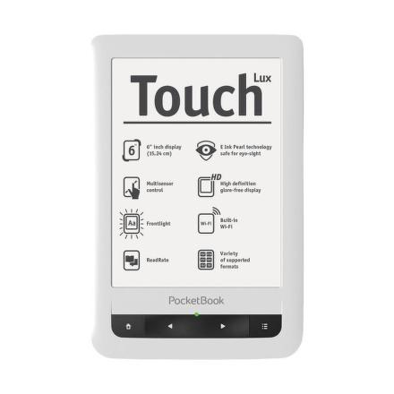 Čtečka e-knih Pocket Book 624 Basic Touch - bílá