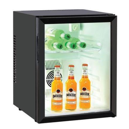Chladnička 1dv. Guzzanti GZ 48GB (Termovitrína) černá