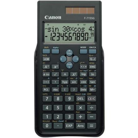 Kalkulačka Canon F-715SG, černá
