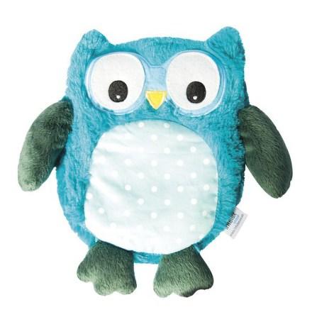 Plyšová hračka ALBI Hooty - sova tyrkysová